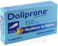 DOLIPRANE 150 mg Suppositoires 2Plq/5 (10) à Nice