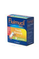 FLUIMUCIL EXPECTORANT ACETYLCYSTEINE 200 mg ADULTES SANS SUCRE, granulés pour solution buvable en sachet édulcorés à l'aspartam et au sorbitol à Nice