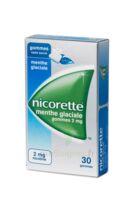 NICORETTE 2 mg Gom à mâcher médic sans sucre menthe glaciale Plq/30gom à Nice