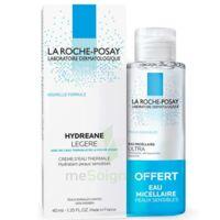 Hydreane Légère Crème hydratante peau normale à mixte 40ml+Eau micellaire 50ml à Nice