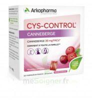 Cys-Control 36mg Poudre orale 20 Sachets/4g à Nice