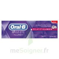 ORAL B 3D WHITE LUXE ECLAT ET GLAMOUR, tube 75 ml à Nice