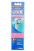BROSSETTE DE RECHANGE ORAL-B SENSITIVE CLEAN x 3 à Nice