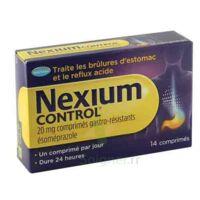 NEXIUM CONTROL 20 mg Cpr gastro-rés Plq/14 à Nice