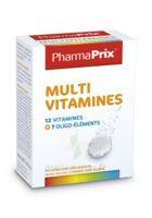 PHARMAPRIX Multivitamines Boîte 24 comprimés effervescents à Nice