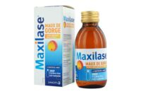 MAXILASE MAUX DE GORGE ALPHA-AMYLASE 200 U.CEIP/ml, sirop Fl/125ml à Nice