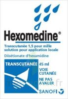 HEXOMEDINE TRANSCUTANEE 1,5 POUR MILLE, solution pour application locale à Nice