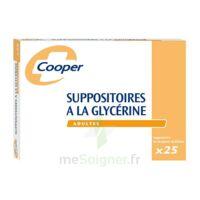 SUPPOSITOIRES A LA GLYCERINE COOPER Suppos en récipient multidose adulte Sach/25 à Nice