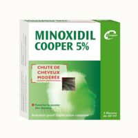 MINOXIDIL COOPER 5 %, solution pour application cutanée à Nice