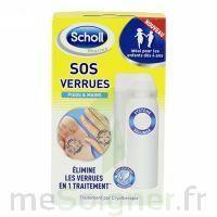 Scholl SOS Verrues traitement pieds et mains à Nice