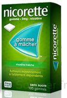 NICORETTE 2 mg Gom à mâcher médic sans sucre menthe fraîche Plq/30gom à Nice