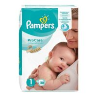 PAMPERS PROCARE PREMIUM Couche protection T1 2-5kg Paq/38 à Nice