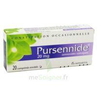 PURSENNIDE 20 mg, comprimé enrobé à Nice