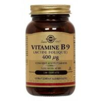 Solgar Vitamine B9 (Acide Folique) 400 µg Tablets à Nice