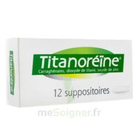 TITANOREINE Suppositoires B/12 à Nice