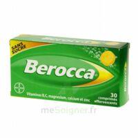 Berocca Comprimés effervescents sans sucre T/30 à Nice