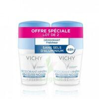 Vichy Déodorant sans sels d'aluminium 48H 2 Billes/50ml à Nice