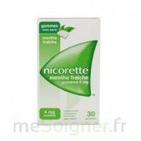 NICORETTE 4 mg Gom à mâcher médic sans sucre menthe fraîche Plq/30gom à Nice