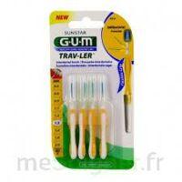 GUM TRAV - LER, 1,3 mm, manche jaune , blister 4 à Nice
