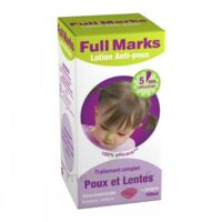 Full Marks Lotion antipoux et lentes 100ml+peigne à Nice