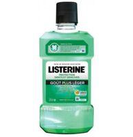 Listerine Goût plus léger 500ml à Nice