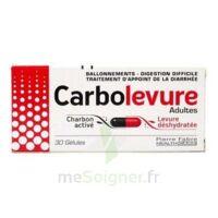 CARBOLEVURE Gélules adulte Plq/30 à Nice
