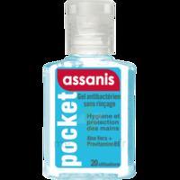 Assanis Pocket Gel antibactérien mains 20ml à Nice