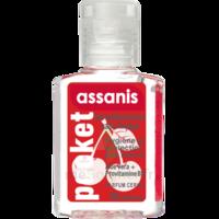Assanis Pocket Parfumés Gel antibactérien mains cerise 20ml à Nice