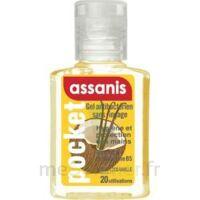 Assanis Pocket Parfumés Gel antibactérien mains Coco Vanille 20ml à Nice