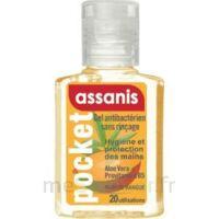 Assanis Pocket Parfumés Gel antibactérien mains Mangue 20ml à Nice