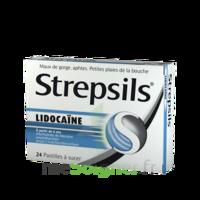 Strepsils lidocaïne Pastilles Plq/24 à Nice