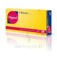 Oligosol Lithium Solution buvable en ampoule ou en récipient unidose 28Amp/2ml à Nice