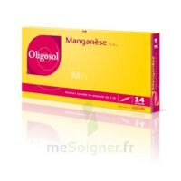 Oligosol Manganèse Solution buvable en ampoule 14Amp/2ml à Nice