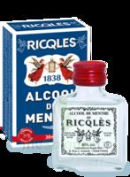 Ricqles 80° Alcool de menthe 30ml à Nice