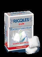 Ricqles Gum Chew gum dragée sans sucre blancheur hygiène B/24g à Nice