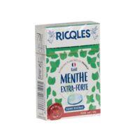Ricqles Sucres Cuits Bonbon Menthe extra-forte sans sucre B/40g à Nice