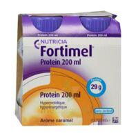 Fortimel Protein Nutriment caramel 4 Bouteilles/200ml à Nice