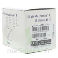 BD MICROLANCE 3, G22 1 1/2, 0,7 m x 40 mm, noir  à Nice