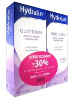 Hydralin Quotidien Gel lavant usage intime 2*200ml à Nice