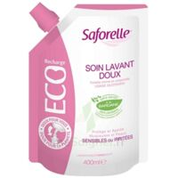 Saforelle Solution soin lavant doux Eco-recharge/400ml à Nice