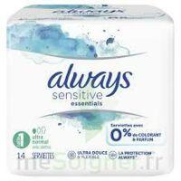 Always Serviettes Sensitive Essentials - Normal Plus à Nice
