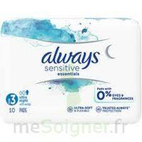 Always Serviettes Sensitives Essentials - Nuit à Nice