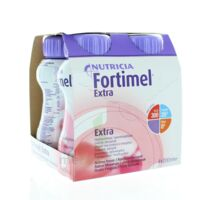 FORTIMEL EXTRA BOUTEILLE, pack 4 à Nice